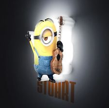 Minions Minis LED Wall Lights