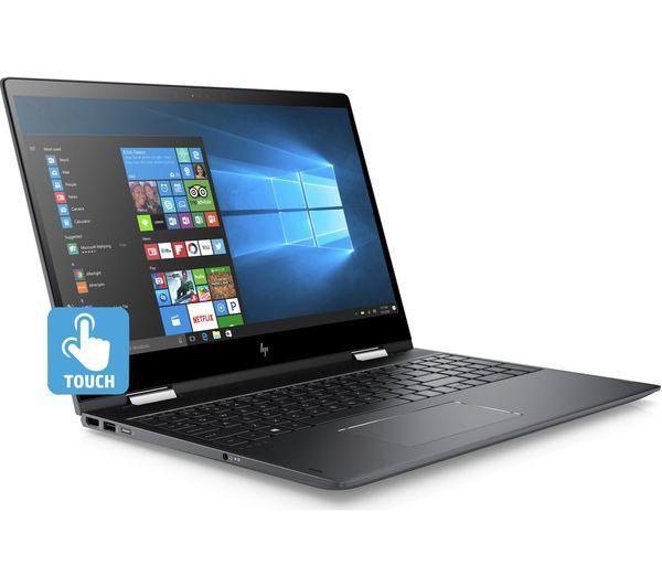 """HP Envy 15.6"""" Laptop Ash Silver 15-BQ150NA"""